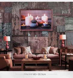 Discount hanging pictures - Northern European romanticism LED canvas household soft adornment customize the sitting room the bedroom hangs a picture