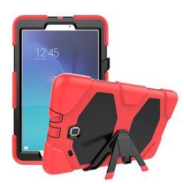 2019 porzellan laptop rosa Heavy Duty Shockproof Schutzhülle für Samsung Galaxy Tab E 9.6 Zoll SM-T560 T561 Silikon KickStand Cover mit Displayschutzfolie