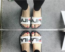 Wholesale best sewing - BEST QUALITY 2018 NEW Fashion men women striped sandals causal Non-slip summer huaraches slippers flip flops slipper