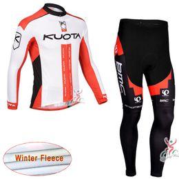 kuota zyklus jersey Rabatt KTM KUOTA Radfahren Winter Thermo Fleece Trikot (Latz) Hosen Windjacke Bike Bekleidung Mountainbike Bekleidung Ausrüstung c1721