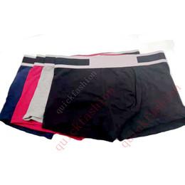 roupa íntima de penis Desconto Homens marca de moda Designer Boxer Breve Underwear Shorts Homem Luxo Sexy Underwear Casual Curto Mens Pênis Confortável Masculino Gay Underwear