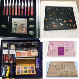 Wholesale halloween box set - 2017 hot new kit Cosmetics 5pcs Pink Set or big box I Want It All Birthday Collection Limited Edition MakeupHigh Quality.