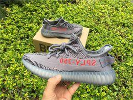 Wholesale Slip Basketball Shoes - Boost 350 V2 BELUGA 2.0 AH2203 SPLY 350 V2 Boost 350 V2 Running Shoes for Man Blue Tint Fluorescent green Yebra boost sneakers Slip online