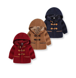 Wholesale yellow worms - 2018 Autumn Fashion Baby Boy Coat Worm Boy Jacket Hooded Boy Outerwear Casual Baby Jacket Kids Clothes Casual