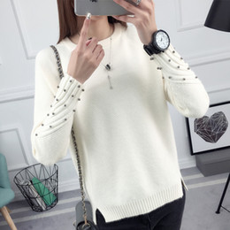 Wholesale cheap knit sweaters - Cheap wholesale 2017 new Autumn Winter Hot selling women's fashion casual warm nice Sweater L57-17808Z