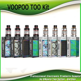 Wholesale chip wholesale - Original VOOPOO TOO 180W 80W Starter Kits TC Box Mod Compatible with Single and Dual 18650 Battery with GENE Chip 100% Authentic