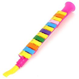 harmonium Rabatt SPMI-Musikinstrument ABS-Kunststoff Horn Design 13 Tasten Mundharmonika Zufällige Farbe