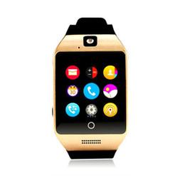 Q18 мода здоровье смарт-часы мужчины Passometer с сенсорным экраном камеры поддержка TF карты Спорт Bluetooth Smartwatch supplier smart watches q18 от Поставщики умные часы q18
