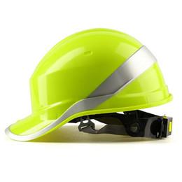 2019 строительные материалы Бесплатная печать логотип шлем каска трудная работа крышка ABS изоляционный материал с люминофором полоса строительство защиты шлемов скидка строительные материалы