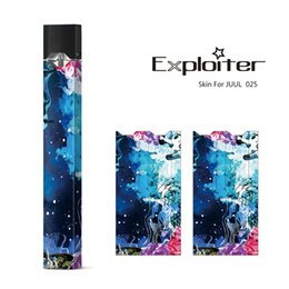 Wholesale logo stickers wholesale - Sticker For Juul OEM Wraps For Juul Kits Customized Paper Cover Sticker Electronic Cigarette Skin With Logo For Juul Kits Cartridges Pods