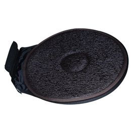 Wholesale Round Chair Cushions - Free Shipping Car Seat Revolving Rotating Cushion Swivel Foam Mobility Aid Chair Seat Cushion Coffee with Headrest