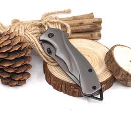 Pequena faca de ferramentas de ferramentas múltiplas on-line-Strider Pequeno 313 Faca Dobrável Tático Faca de Sobrevivência Lâmina De Aço Inoxidável 56HRC Bolso Facas de Caça EDC Camping Outdoor Multi Ferramentas
