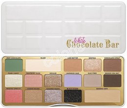 Wholesale Smoke Palette - Makeup Palette White Chocolate Bar 16 Colors Shimmer Eyeshadow Metallic Smoked Palette Sent by ePacket