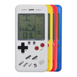 9f656ceade6b Best Gift Retro Classic Childhood Tetris Handheld Game Players LCD  Electronic Games Toys Game Console Riddle Educational Toys