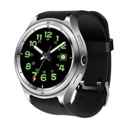 Montres de luxe pour enfants en Ligne-Montre de base étanche Smartwatch F10 1 Go Ram 16 Go Rom Quad Montre de luxe Andorid 5.1 ronde Bracelet