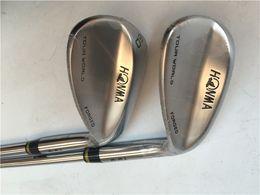 Wholesale 52 degree wedge - Honma Tour World Wedge Honma TW-W Golf Wedges Golf Clubs 48 50 52 54 56 58 60 Degree Steel Shaft With Head Cover
