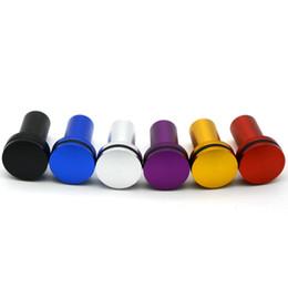 Freni d'oro online-Universal alluminio Jdm Vip E-Brake Freno a mano di emergenza Drift Button Bypass Gold / Purple / Blue / Silver / Red / Black