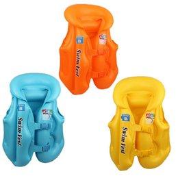Canada S M L Summer Bébé Sécurité Ride-On Gilet de flottabilité de natation Jouets Enfants Piscine Rafts Flotteur Natation Gonflable Tube gilet de sauvetage Bébés Jouets cheap baby riding toys Offre