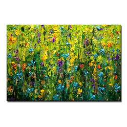 hand painted oil paintings Coupons - Mintura Hand Painted Canvas Paintings For Bedroom Decoration Pictures On The Wall Modern Abstract Oil Painting Unframed Canvas Art Wall