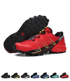Wholesale Cotton Road Shoes - 2018 New Arrival Speedcross Running Shoes For Men Outdoor Anti-skid Wear-proof Off-road Running Sneakers Speedcross 5 Shoes Size EUR40-46