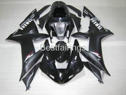 carenados personalizados r1 Rebajas Kit personalizado personalizado de carenado de inyección para carenados negros YAMAHA R1 2002 2003 YZF R1 02 03 FG25