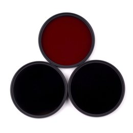2019 инфракрасные линзы 58mm 590nm+720nm+850nm Infrared IR Optical Grade Filter for Canon Nikon Fuji Pentax Sony Camera Lenses дешево инфракрасные линзы