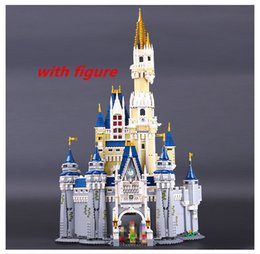 Wholesale Princess Building Blocks - Lepin 16008 4080pcs Cinderella Princess Castle City Model Building Block Kid Educational For Children Compatible legoing 71040