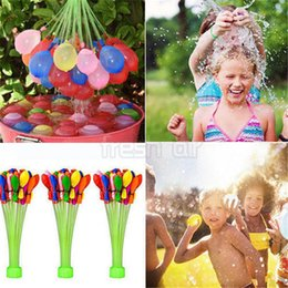 Wholesale Outdoor Balloons - 111Pcs bag Bunch of Balloon Outdoor Magic Water Balloons Bombs Water Fight Balloon Kids Summer Game WaterBalloon Party Supplies