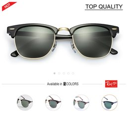 Wholesale Boy Master - 2018 top quality Half Frame Square club 49mm Sunglasses Brand Designer Men Women Classic Master luxury G15 Sun Glasses Shades Oculos gafas