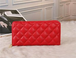 Wholesale cheap man wallets - Red Luxury wallets Wholesale cheap discount Men Women Discount Wallet Top PU Casual Wallets Top Selling Men Women Wallets With Dust Bag