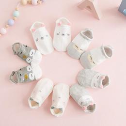 Wholesale Bunny Vintage - 5 pairs lot Princess Girls socks Cute bunny bear fox design baby socks Vintage children Ankle 0 to 7t