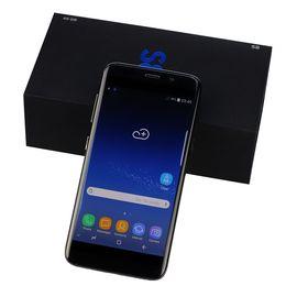 Wholesale cdma camera - Goophone S8 5.0inch MTK6580 quad core Android 1G Ram 4G Rom show 64GB fake 4G lte smartphone GPS WIFI DHL free