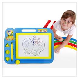 Детские Развивающие Игрушки Sketch Pad Магнитная Доска для Рисования для Мальчиков и Девочек Случайный Цвет Образования Игрушки от Поставщики супер игровая приставка