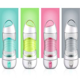 Wholesale Humidifier Night Light - LED Light Smart Water Bottle Tracks Water Intake Glows to Remind You to Stay Night lights Humidifier Sos Emergency Sport Mug Cup Kettle