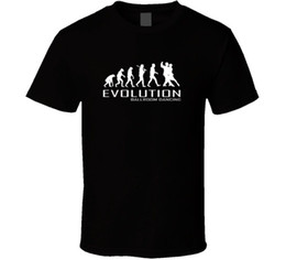 Wholesale ballroom dance fashion - BALLROOM DANCING APE TO OF EVOLUTION DANCE T Shirt