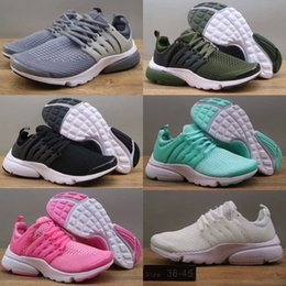 Wholesale Fashion Utility - 2018 Autumn Winter Airs Presto Low Utility Running Shoes for Fashion Prestos Ultra Breathe Jogging Sports Sneakers Size 36-45 Free Shipping