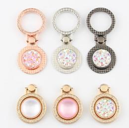 Elmas Parmak Yüzük Tutucu Kristal Rhinestone Glitter Ayna Vaka Gem Sahipleri Ile iphone x 6 7 8 artı Samsung s9 Için Standı nereden mücevher elmasları tedarikçiler