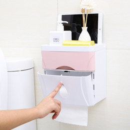 dabber de óleo de mel Desconto Casa Banheiro Organizador Detritos Papel Higiênico Titular Armazenamento De Tecido Organizador de Maquiagem Diversos De Armazenamento para o banheiro