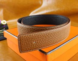 Wholesale Blue Novelties - Big buckle genuine leather belt with smooth metal designer belts men women high quality new mens belts luxury brand belt free shipping