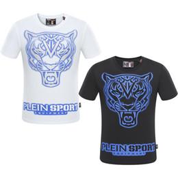 Wholesale Tiger Shirts For Men - 2018 Spring summer Medusa Harajuku Tiger Print shirt for Men's active short Sleeve t shirt Fashion Casual shirts Luxury Brand Tees M-3XL