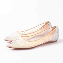 b7f0bee500 Silver Rhinestone Flats Women Shoes Coupons, Promo Codes & Deals ...