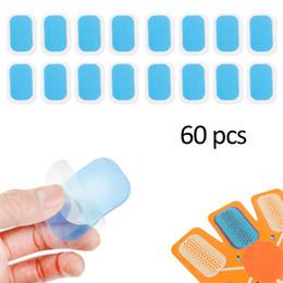 30 confezioni 60 PC adesivi gel idratanti addominali Idrogel Attrezzature per il fitness Macchina addominale speciale Macchina per esercizi muscolari da pattini di paintball fornitori