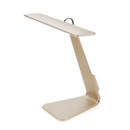 Настольная лампа Dest свет ультратонкий Mac стиль LED 3 режим затемнения сенсорный переключатель чтения настольная лампа встроенный аккумулятор настольная лампа мягкий свет от