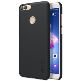 """Wholesale matte white screen - Huawei P Smart case cover 5.65"""" Nillkin case for Huawei P Smart Enjoy 7S Frosted shield Matte hard cover Gift screen protector"""
