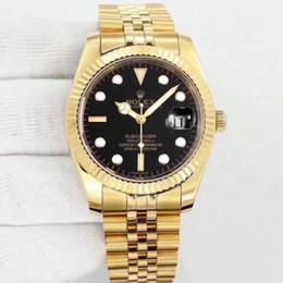 Стальной человек смотреть кварцевый день онлайн-Высокое качество Марка кварц из нержавеющей стали 36 мм AAA роскошные мужские часы Оптовая мода день дата мужчины платье часы горячие продажа мужские часы подарок