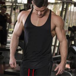 85503fd496d5 Marke Solid Kleidung Bodybuilding Tank Top Mens Ärmellose Shirts Fitness  Männer Singuletts Leere Baumwolle Workout Stringer Turnhallen Weste  preiswerte ...