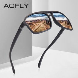 59014b657 AOFLY MARCA DESIGN Retro Dos Homens Do Vintage óculos Polarizados Óculos De  Sol De Condução HD Óculos De Sol Quadrado Oculos Óculos de Proteção UV400  AF8118 ...