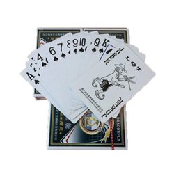 Wholesale play entertainment - Free Lovely Poker Interesting Playing Cards Game Outside Outdoor Creative Travel Entertainment Poker P-101