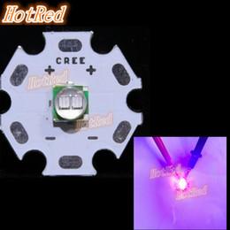 Wholesale Cree Board - 5PCS Epileds 5050 XML 5W UV Purple 395NM - 400NM Led Emitter Lamp Light 3.4-3.8V 1200mA On 8MM 12MM14MM 16MM 20MM PCB Board