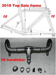 Wholesale carbon road bike 58cm - 80 New Colors Carbon Road Frame Carbon Bike Frame 3K 1K 44cm to 59.5cm Avaliable
